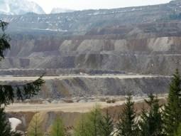 Eisenerz, der letzte Ort in Österreich in dem Eisenerz abgebaut wird.