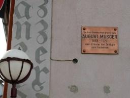 Eisenerz, der letzte Ort in Österreich in dem Eisenerz abgebaut wird und einen berühmten Sohn.