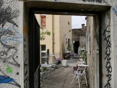 Viele wunderhübsche Cafés in Belgrad.