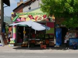 Obst und Gemüseparadies in Serbien.