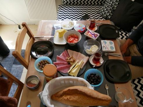 Frühstück mit Dilara.