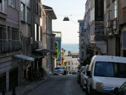 Istanbul - Sultanahmet. Das Wasser ist nie weit in Istanbul.