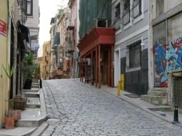 Istanbul - rund um den Taksim Platz.