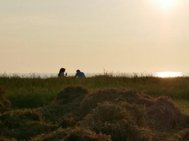 Sonnenuntergang am Schwarzen Meer.// Sunset at Black Sea.