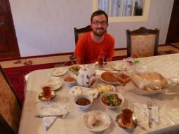 Zu Gast bei Jemsids familiy.//Guests at Jamsids familiy.
