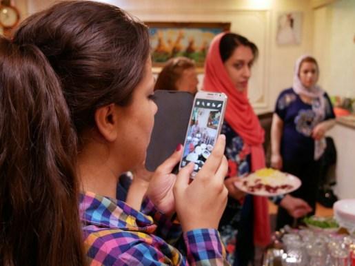 Girls crew in Karaj.