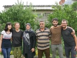 Golsa, Antonia, Mother and father of Hamidreza, Hmidreza himself and Daniel.