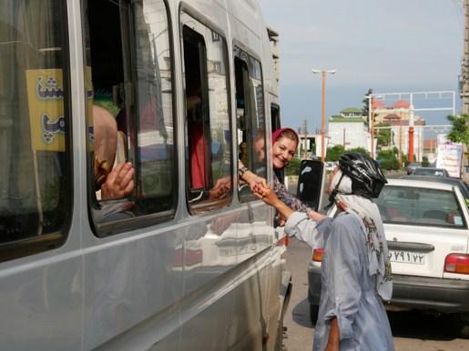 Girls bus.