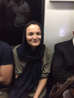 Metro Tehran.