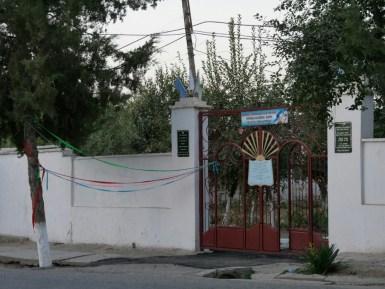 Straßenschmuck zum 26. Unabhängigkeitstag von Usbekistan (Von der UdSSR) am 1. September.// Street decoration for the 26th independence day of Uzbekistan (from USSR) at 1st of September.
