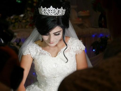 Like a princess.