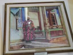 Khan von Bukhara in buntem Gewand.// HKhan of Bukhara in coulourful dress.