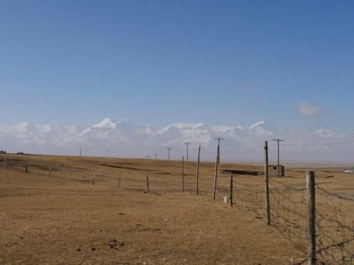 Sary Tash has an incredible view.// Sary Tash hat einen unglaublichen Ausblick.