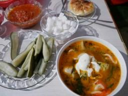 Dinner. Thanks Burulkan!