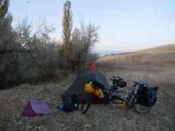 Tent spot.// Zeltplatz.