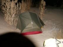 Our tent in de desert.// Unsr Zelt in der Wüste.