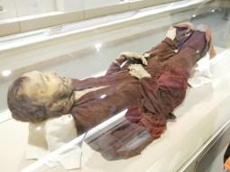 Xinjiang Regional Museum: 2800 Jahre alte Mumie.// 2800 years old mummy.