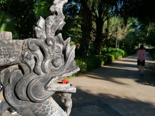 Park in Jinghong.