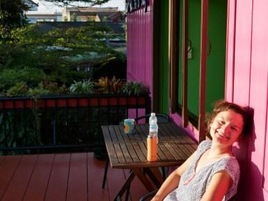 Geburtstagsfrühstück in Chiang Rai.// Birthday breakfast in Chiang Rai.