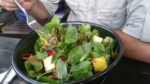 Lanna herb salad.// Lanna-Kräuter-Salat.