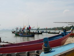 Bunte Fischerboote.// Colourful Fishing boats.