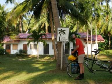 Caution coconut.// Vorsicht Kokosnusslawine!