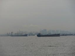 Einfahrt in Jakarta.// Arrival in Jakarta.