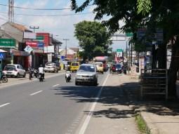 Indonesian town.// Indonesische Stadt.