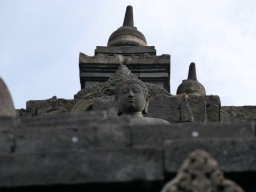Borobudur, der groesste buddhistische Tempel in Suedostasien.// Borobudur, the biggest buddhist temple in southeastasia.