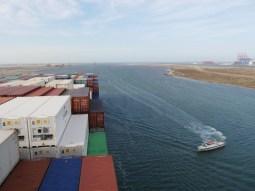 Suez Crew is departing.// Die Suez Crew verlässt uns wieder.