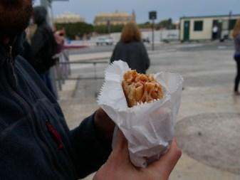 Nudeln im Brot.// Pasta in the bread.