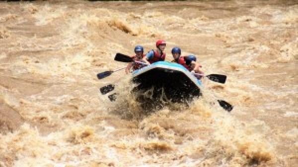 Raften Padas River Borneo