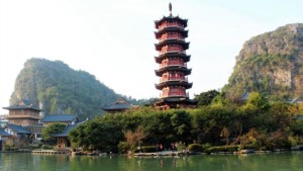 Boat tour Guilin