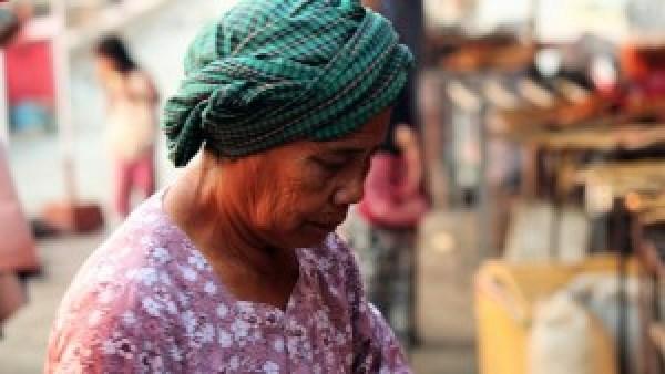 Cambodjaanse dame