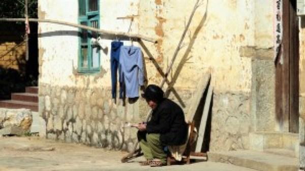 Chinese man Yangshuo
