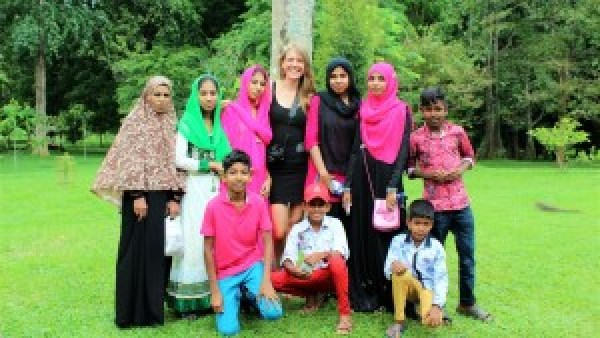 Familiefoto Botanic Garden Kandy