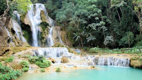 Kuang Si waterval Luang Prabang