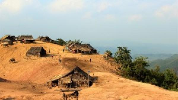 Lahu Village Laos