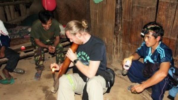 Mark roken Lahu village