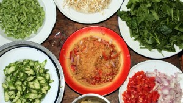 Myanmar's food