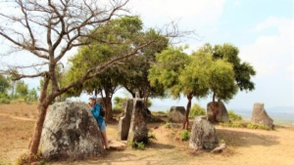 Paula vlakte der kruiken Laos