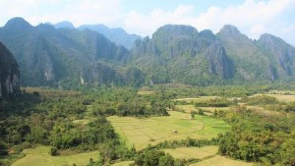 Vang Vieng omgeving