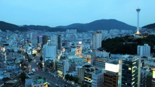 View Busan from Lotte Mart