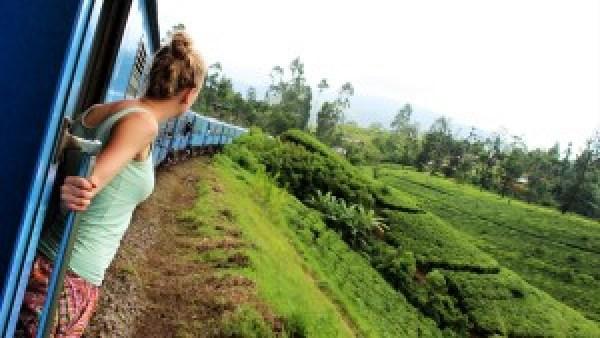 Treinen in Sri Lanka