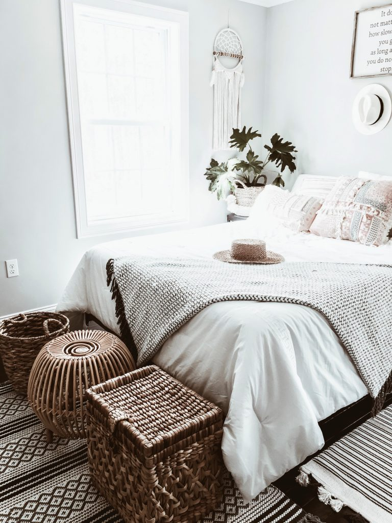 Home Decor Edition: Boho Chic Bedroom Makeover - WANDER x LUXE on Bohemian Bedroom Ideas  id=46236