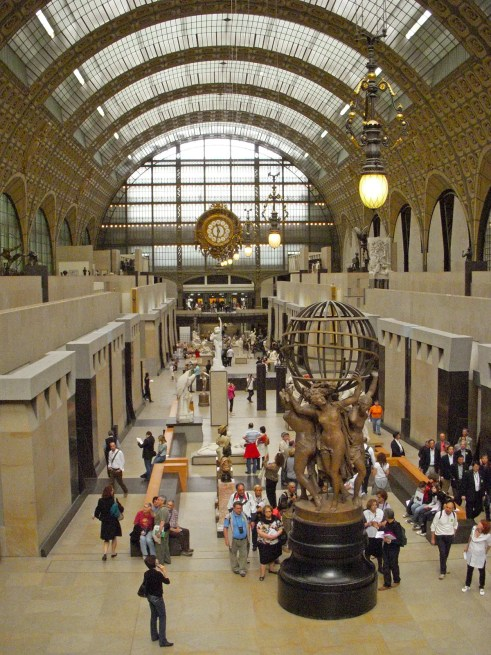 View of the Nave of the Musée d'Orsay