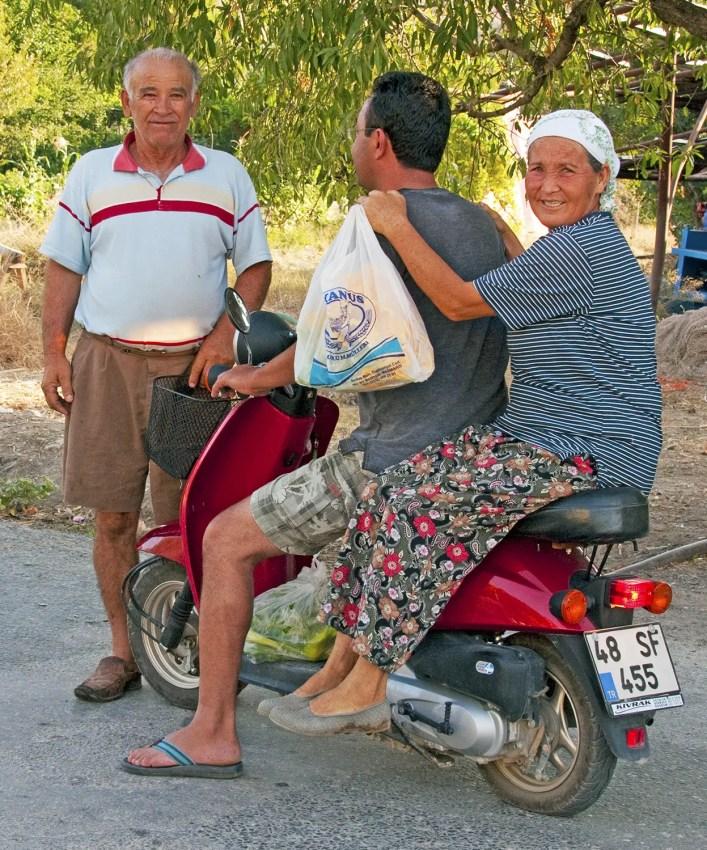 The friendly Turks near Bozburun