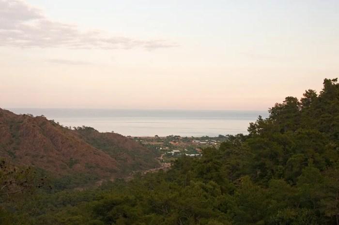 View from Chimaera, Turkey