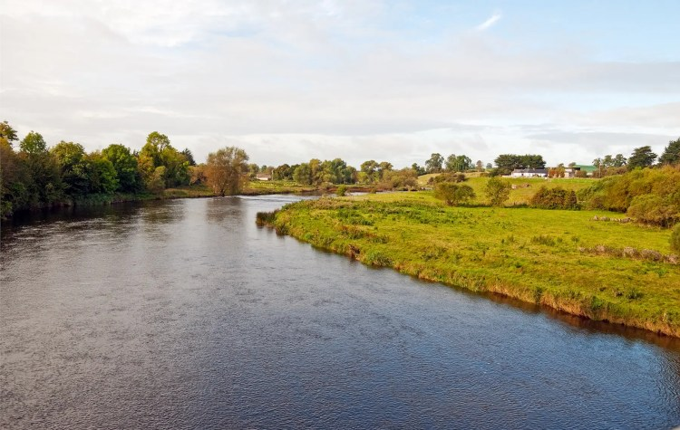 Boyne River Valley near visitor center