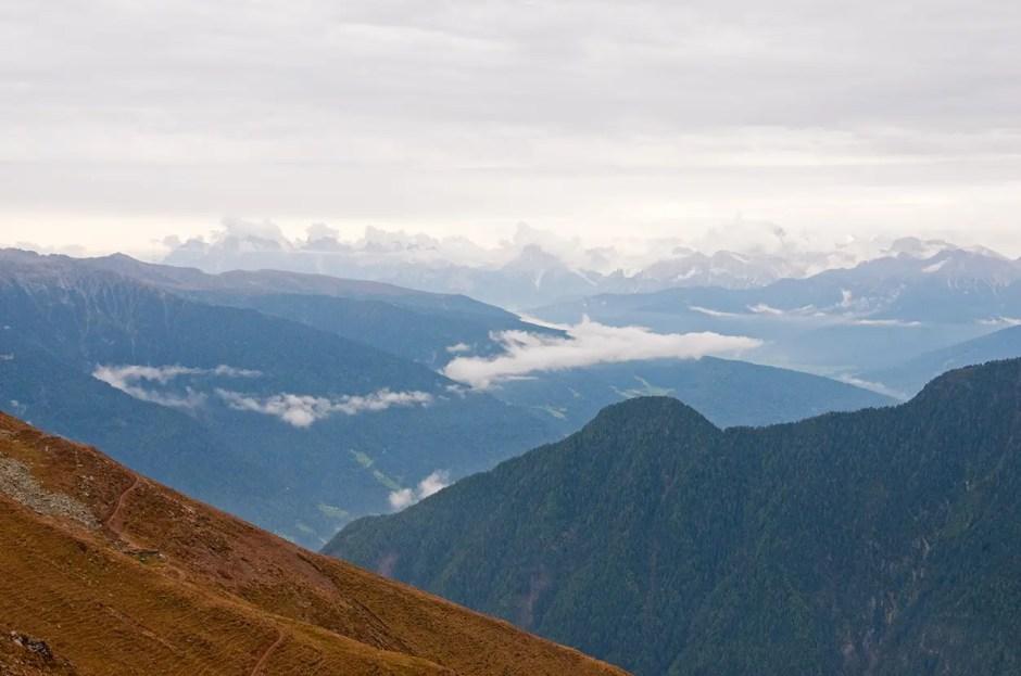 Toward the Dolomiti